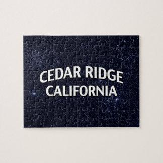 Cedar Ridge California Jigsaw Puzzles
