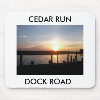 CEDAR RUN DOCK ROAD MOUSE PAD
