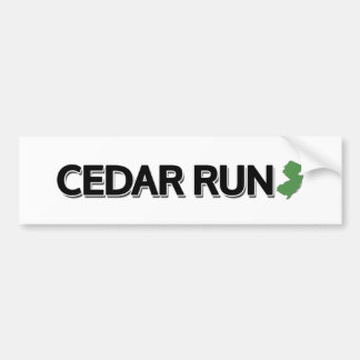 Cedar Run, New Jersey Bumper Sticker