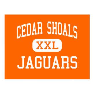 Cedar Shoals - Jaguars - High - Athens Georgia Post Card