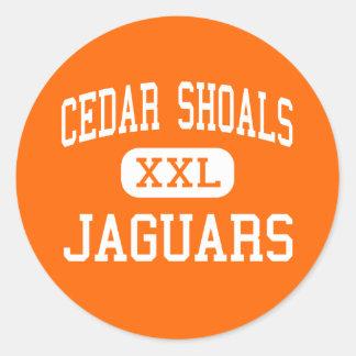 Cedar Shoals - Jaguars - High - Athens Georgia Sticker