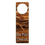 Cedar Textured Wooden Bark Look Door Hanger