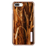 Cedar Textured Wooden Bark Look Incipio DualPro Shine iPhone 7 Plus Case