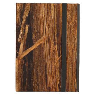 Cedar Textured Wooden Bark Look iPad Air Case