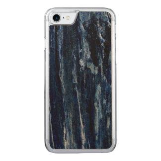 Cedar Tree Bark Negative Photo Carved iPhone 7 Case