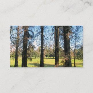 Cedar Trees Griffith Park photograph 1 Business Card