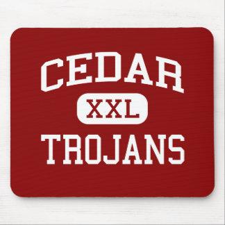 Cedar - Trojans - Catholic - Hartington Nebraska Mouse Pad