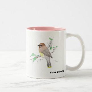 Cedar Waxwing, Cedar Waxwing Coffee Mugs