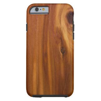 Cedar  Wood Design Tough iPhone 6 Case