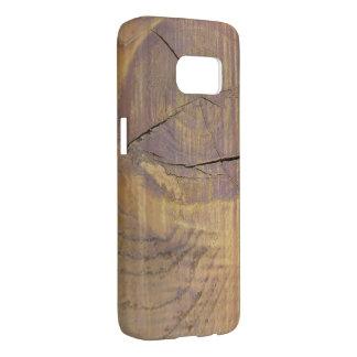 Cedar Wood Knot Close Up Photograph Samsung Galaxy S7 Case