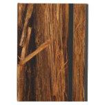 Cedar Wood Textured Bark Look iPad Air Cover