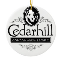 Cedarhill Lion Ceramic Ornament