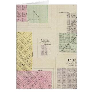Cedarvale, Elgin, Chautauqua Springs, Kansas Card