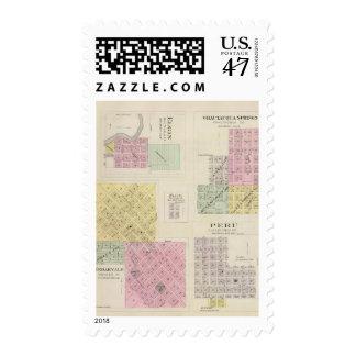 Cedarvale, Elgin, Chautauqua Springs, Kansas Postage Stamp