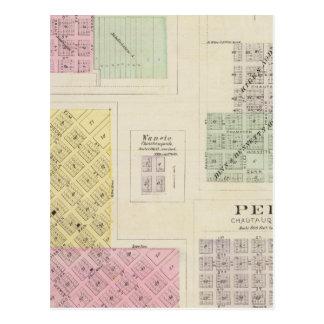 Cedarvale, Elgin, primaveras de Chautauqua, Kansas Tarjetas Postales