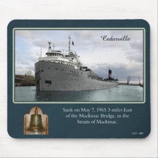 Cedarville shipwreck mousepad