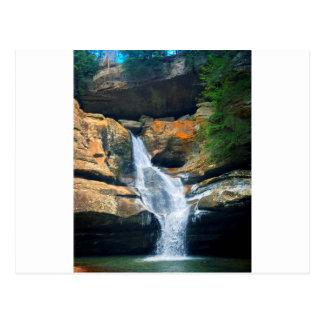 Ceder Falls, Hocking Hills Ohio Postcard