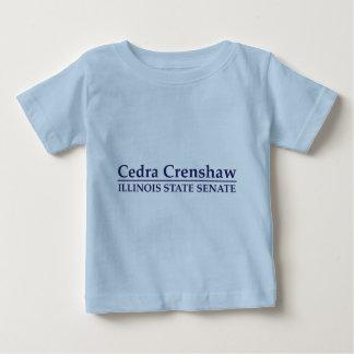 Cedra Crenshaw Illinois State Senate Baby T-Shirt