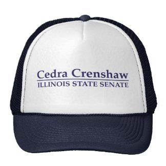 Cedra Crenshaw Illinois State Senate Trucker Hat