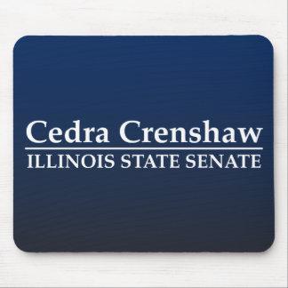 Cedra Crenshaw Illinois State Senate Mouse Pad
