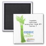 Cedric the Celery Magnet