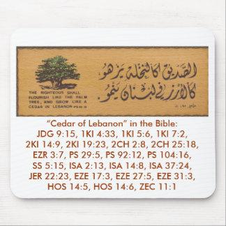 Cedro de Líbano Mousepad