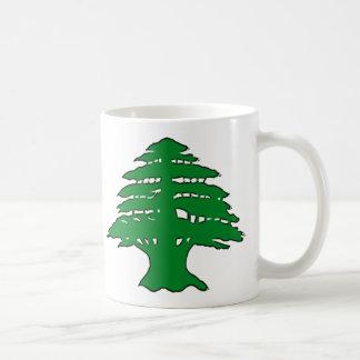 Cedro libanés taza clásica