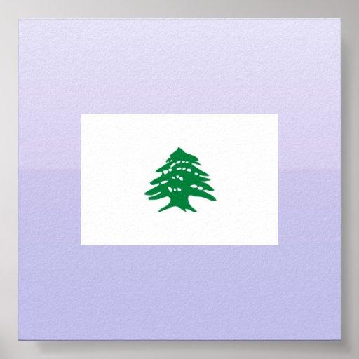 Cedro, Líbano Posters