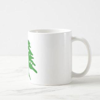 Cedro verde/cedro de Líbano Taza De Café