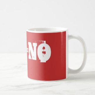 CEE-NO-MUGG CLASSIC WHITE COFFEE MUG