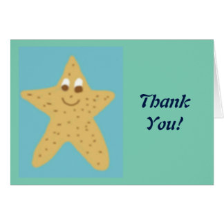 Cee Starr Thank You Notes Greeting Card