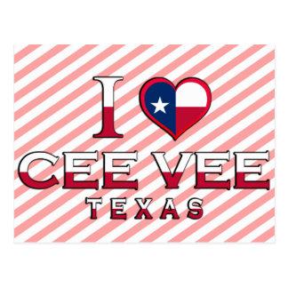 Cee Vee, Texas Postcard