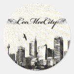 CeeMeeCity Sticker