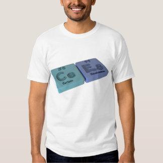 Cees como el cerio del Ce y einsteinio del Es Camisas