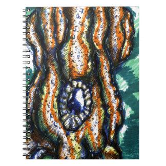 Cefalópodo Oceanus Libros De Apuntes Con Espiral