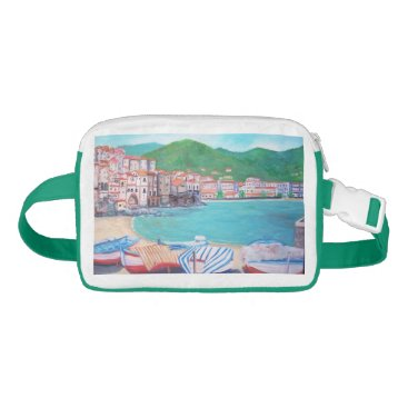 Beach Themed Cefalu Beach, Fanny Pack