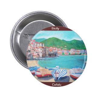 Cefalu, botón de Sicilia