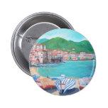 Cefalu, botón de Sicilia Pin