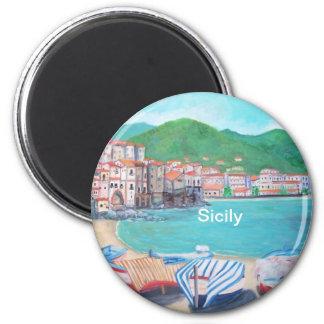 Cefalu, Sicily Magnet