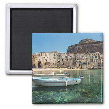 Cefalu town in Sicily Magnet