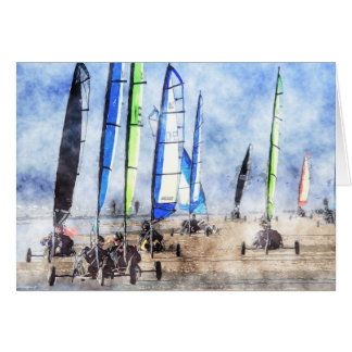 Cefn Sidan Blokart Racing Competition Cards