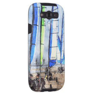 Cefn Sidan Blokart Racing Competition Galaxy S3 Cover