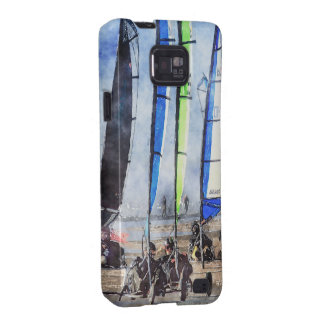 Cefn Sidan Blokart Racing Competition Galaxy S2 Case