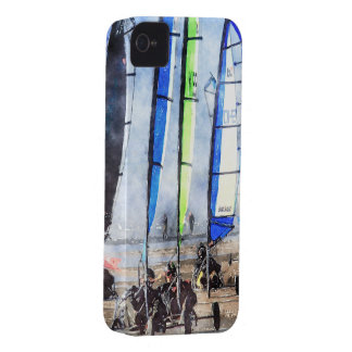 Cefn Sidan Blokart Racing Competition Case-Mate iPhone 4 Case