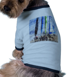 Cefn Sidan Blokart Racing Competition Pet Tee Shirt