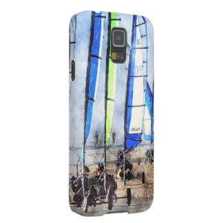Cefn Sidan Blokart Racing Competition Galaxy S5 Case
