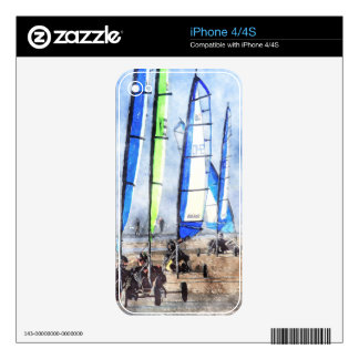 Cefn Sidan Blokart Racing Competition iPhone 4 Skins