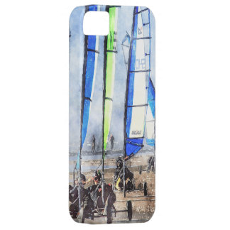 Cefn Sidan Blokart Racing Competition iPhone SE/5/5s Case