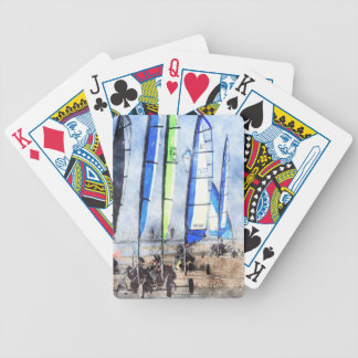 Cefn Sidan Blokart Racing Competition Playing Cards