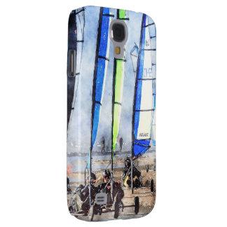Cefn Sidan Blokart Racing Competition Samsung Galaxy S4 Case